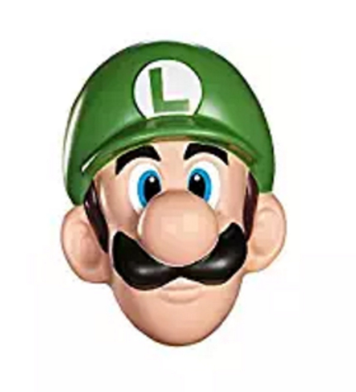 Super Mario Bros. Luigi Adult Plastic Mask