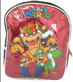 Mario Brothers Mini Toddler Backpack - Group Bowser