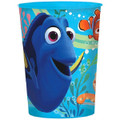 12X Finding Dory Clear Plastic 16 Ounce Reusable Keepsake Favor Cup ( 12 Cups )