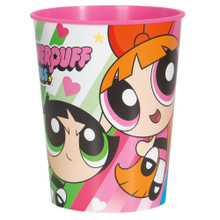 12X Power Puff Girls Plastic Favor Cup Pack of 12