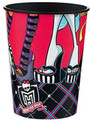 12X Monster High Plastic 16 Ounce Reusable Keepsake Favor Cup ( 12 Cups )