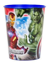 Avengers Assemble Plastic 16 Ounce Reusable Keepsake Favor Cup (1 Cup)