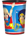 Superhero Girl Plastic 16 oz Keepsake Favor Souvenir Cup (1 Cup)