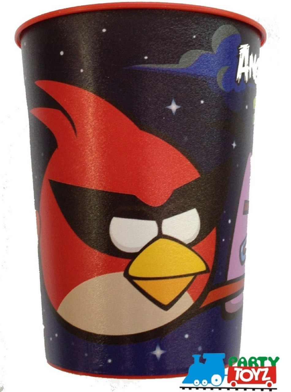 Angry Birds Space Plastic 16 Ounce Reusable Keepsake Favor Cup (1 Cup)