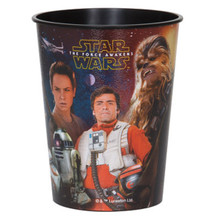 Star Wars Force Awakens Plastic 16 Ounce Reusable Keepsake Favor Cup (1 Cup)