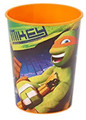 Teenage Mutant Ninja Turtles Mikey Plastic 16 Oz Reusable Keepsake Favor Cup