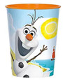 Frozen Olaf Orange Plastic 16 oz Reusable Keepsake Souvenir Favor-Cup (1 Cup)