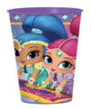 Shimmer And Shine Plastic 16 Ounce Reusable Keepsake Favor Cup (1 Cup)