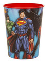 Justice League Plastic 16 Ounce Reusable Keepsake Favor Cup (1 Cup)