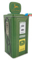 John Deere Gas Pump Square Tin Coin Bank