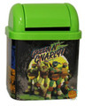 "Teenage Mutant Ninja Turtles Desktop Waste Bin Tin - ""Green N' Gnarly"""