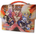 Bakugan Dome Carry All Tin Stationery Lunch Box Lunchbox - Orange