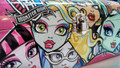 Monster High Clutch Tin Stationery Wristlet Purse - Faces