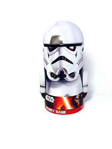 Star Wars Rounded Figure Tin Coin Bank - Stormtrooper