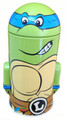 Teenage Mutant Ninja Turtles Rounded Figure Tin Coin Bank - Leonardo