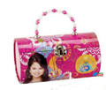 Wizards of Waverly Place Round Carry All Tin Box - Hot Pink