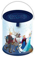 """Frozen Clear Paint Canister with Tin Lid - """"Amazing"""""""