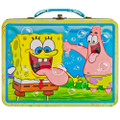 Spongebob Squarepants Square Tin Stationery Small Lunch Box Lunchbox