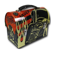 Star Wars Dome Tin School Lunch Box Orange - Vader
