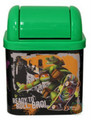 "Teenage Mutant Ninja Turtles Desktop Waste Bin Tin - ""Ready To Roll"""