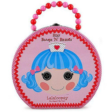 Lalaloopsy Round Tin Hat Box Carry All Hatbox - Rosey Bumps N Bruises