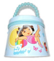 Dora the Explorer Round Tin Box Carry All Purse