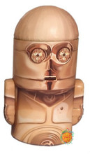 Star Wars Rounded Figure Tin Coin Bank - C3PO