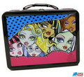 Monster High Square Tin Stationery or Small Lunch Box - Faces