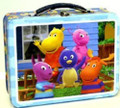 Backyardigans Tin Box Sandwich Case Pencil Bag -Blue