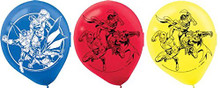Justice League Pack of 6 Latex Helium Quality Balloons