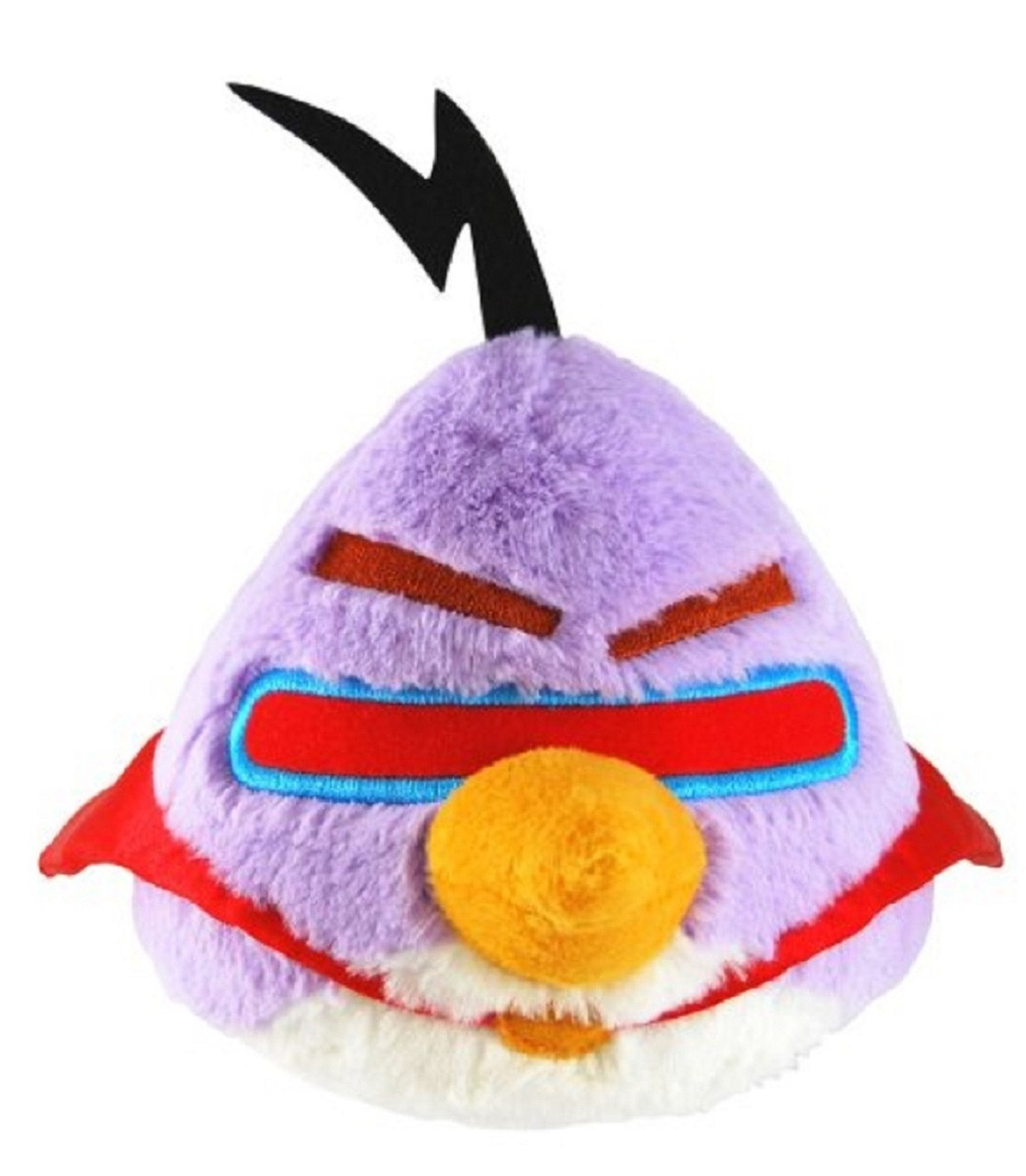 Angry Birds Large 16 Inch Plush With Sound - Purple Lazer Bird Lazar