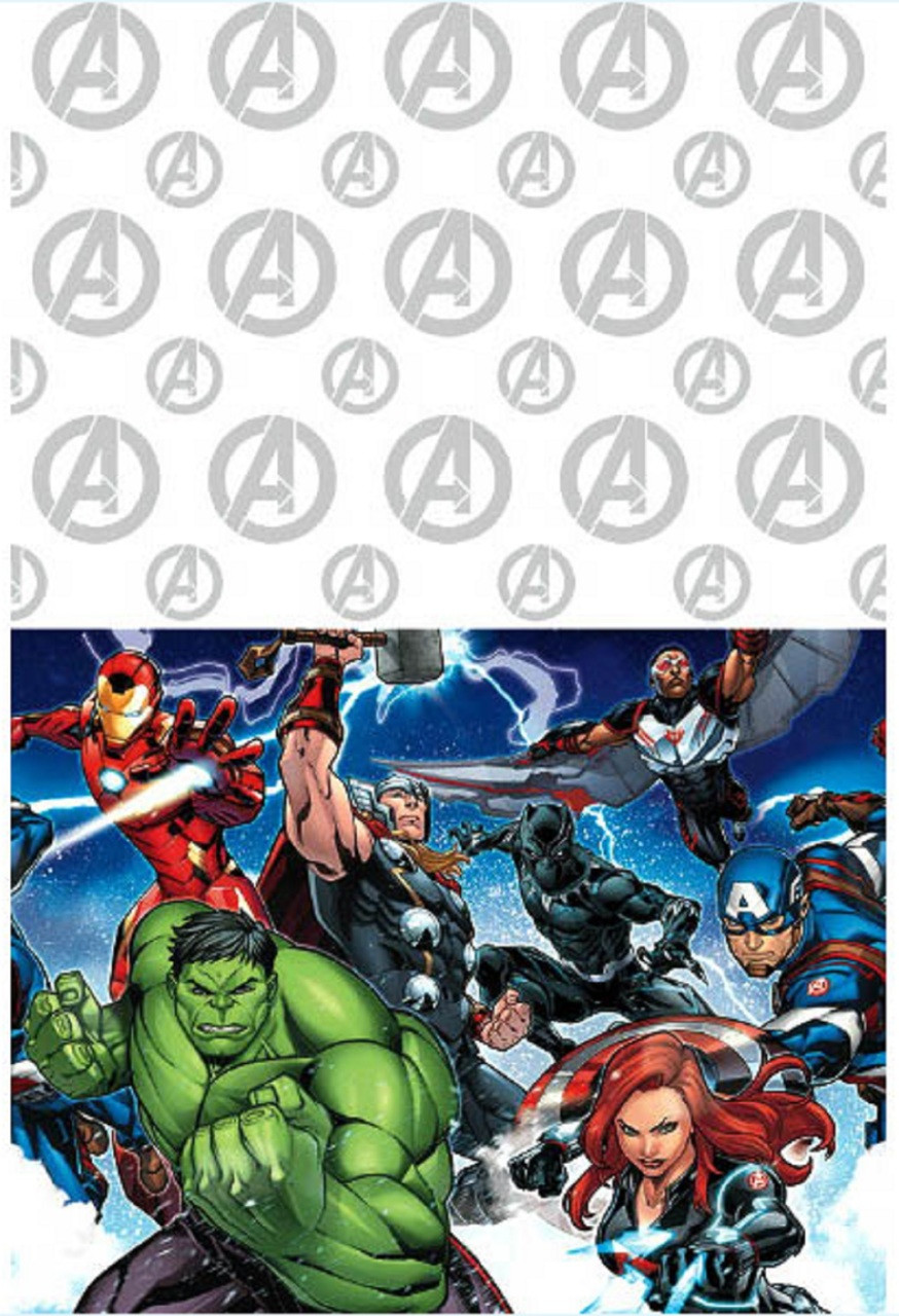 Epic Avengers Plastic Table Cover