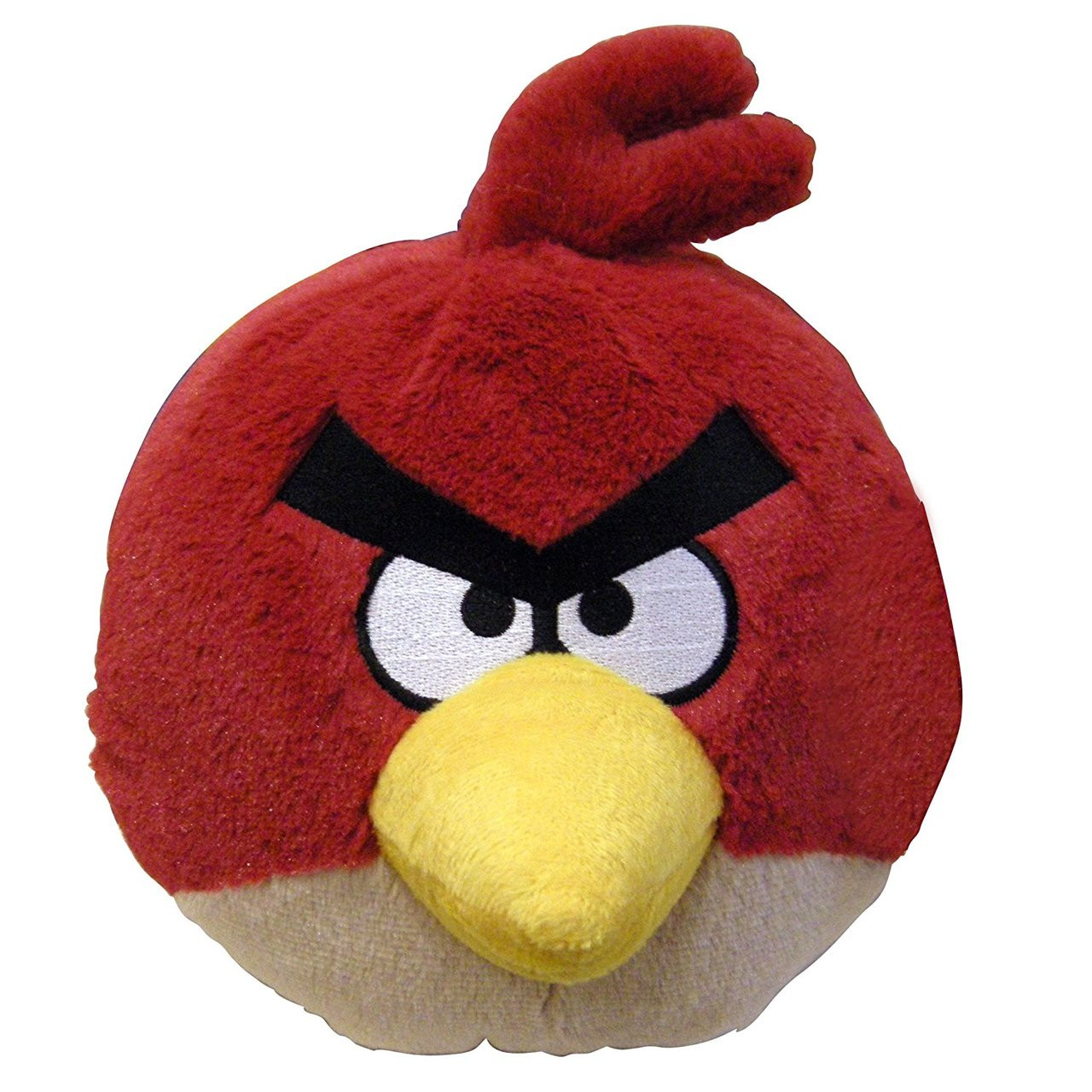 Angry Birds Medium 8 Inch Plush Toy With Sound - Red Bird