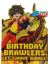 Bakugan Pack of 8 Invitations