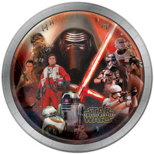 Star Wars Force Awakens Large Lunch Plates