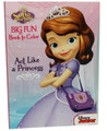 Sofia The First 96 pg. Big Fun Book To Color - Act Like A Princess