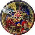 Bakugan Small 6 Inch Round Party Cake Dessert Plates