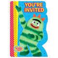 Yo Gabba Gabba Invitations with Save the Date Cards and Seals
