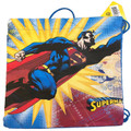 Drawstring Bag - Superman Flying Upward Cloth String Bag