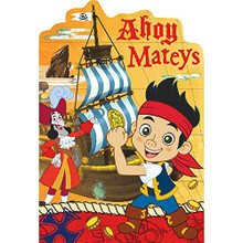 Jake and the Neverland Pirates Pack of 8 Invitations  - Save the Date Stickers