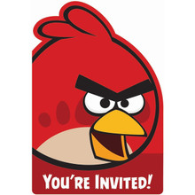 Angry Birds  Pack of 8 Invitations
