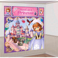 Sofia the First Giant Scene Setter Wall Decorating Kit