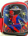 "Spiderman 12"" Cloth Toddler Backpack Boog Bag Pack - Black/Red"