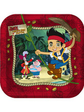 Jake and the Neverland Pirates Small 7 Inch Party Cake Dessert Plates