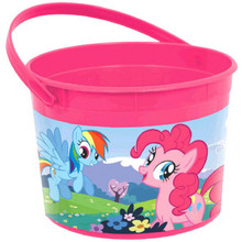 My Little Pony Plastic Favor Bucket Container ( 1pc )