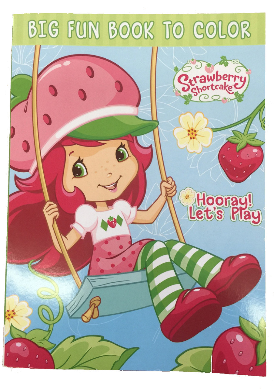 - Strawberry Shortcake Jumbo Coloring Book Partytoyz.com