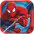 Ultimate Spider-Man Small 7 Inch Party Cake Dessert Plates
