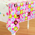 Barbie Plastic Tablecover Table Cover - Polka Dot