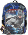 Batman The Dark Knight 16 Inch Large Backpack - With Car