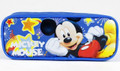 Mickey Mouse Plastic Pencil Case Pencil Box - Blue Stars